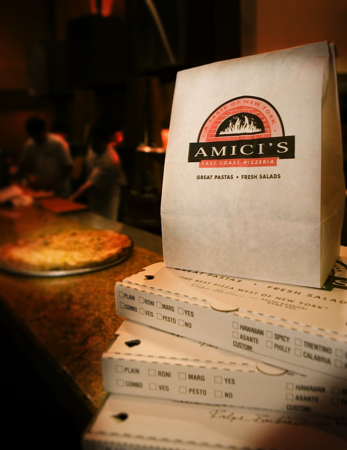 Amici's pizza coupons