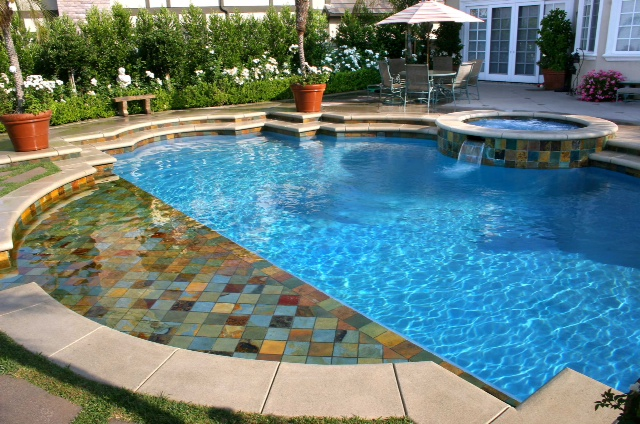 Luxe h2o santa barbara pool contractors coupons near me for Local pool contractors