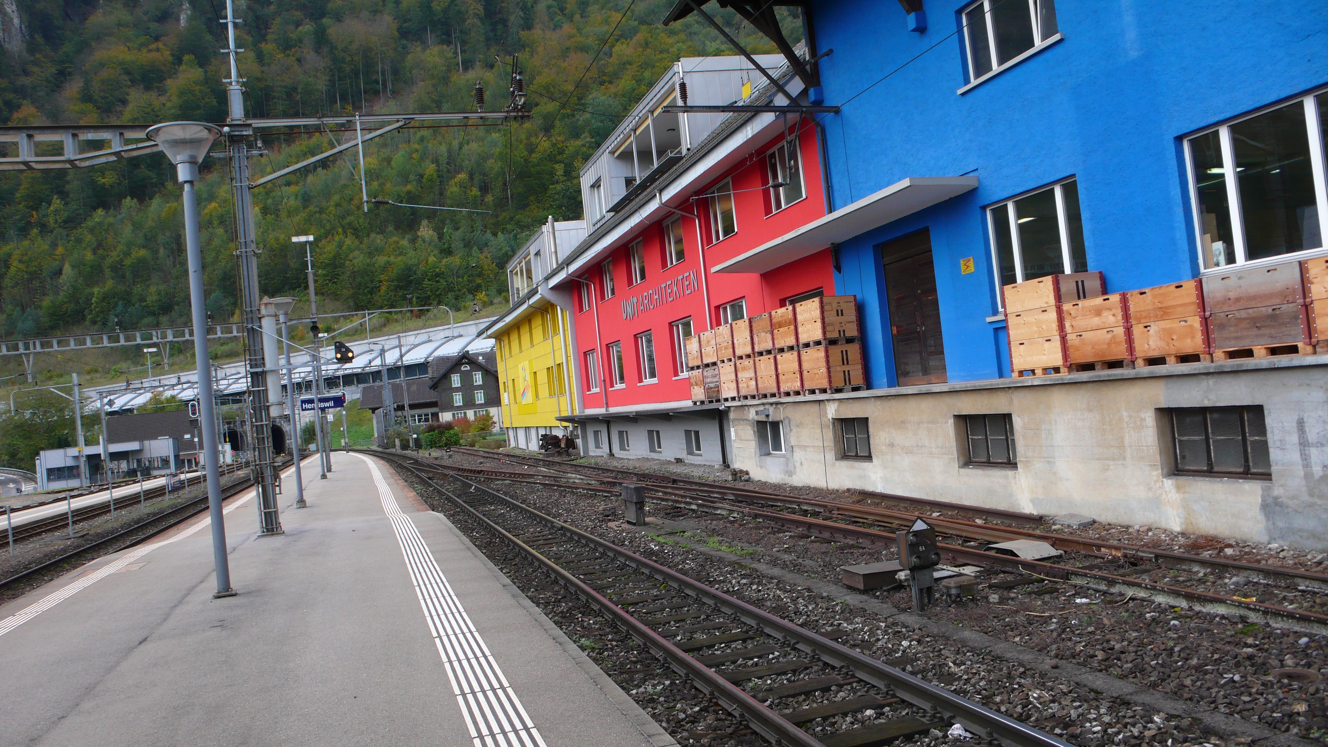 zb Zentralbahn AG – Reisezentrum Hergiswil