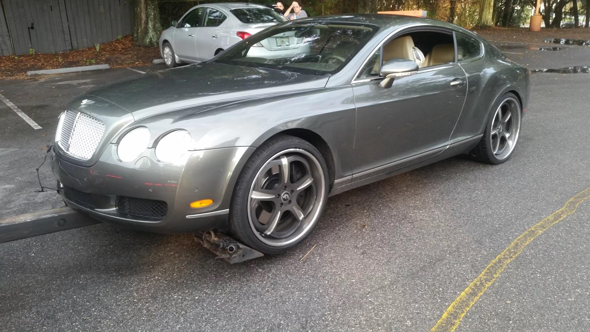 2006 Bentley, yeah, we get those too