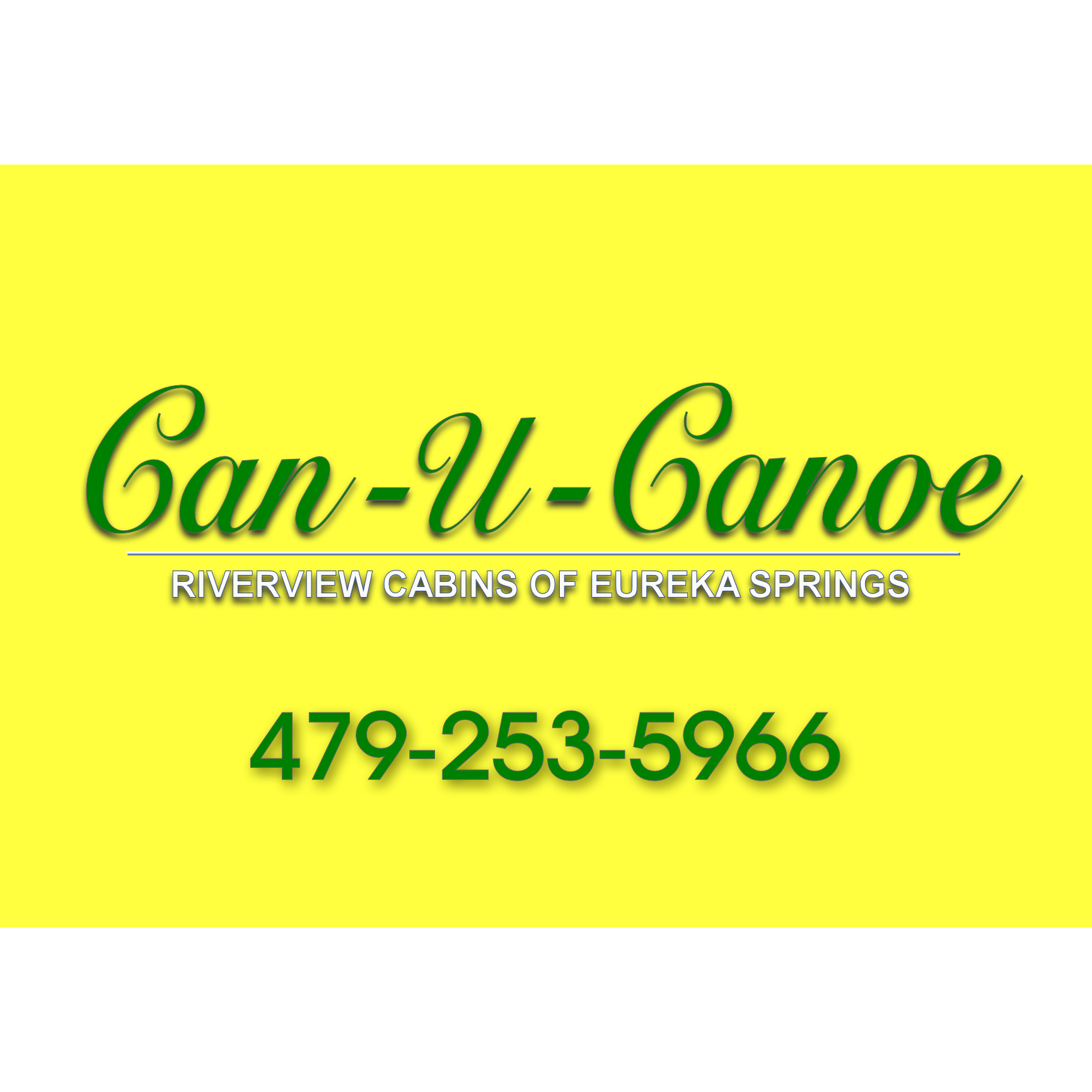 Can-U-Canoe Riverview Cabins - Eureka Springs, AR - Hotels & Motels
