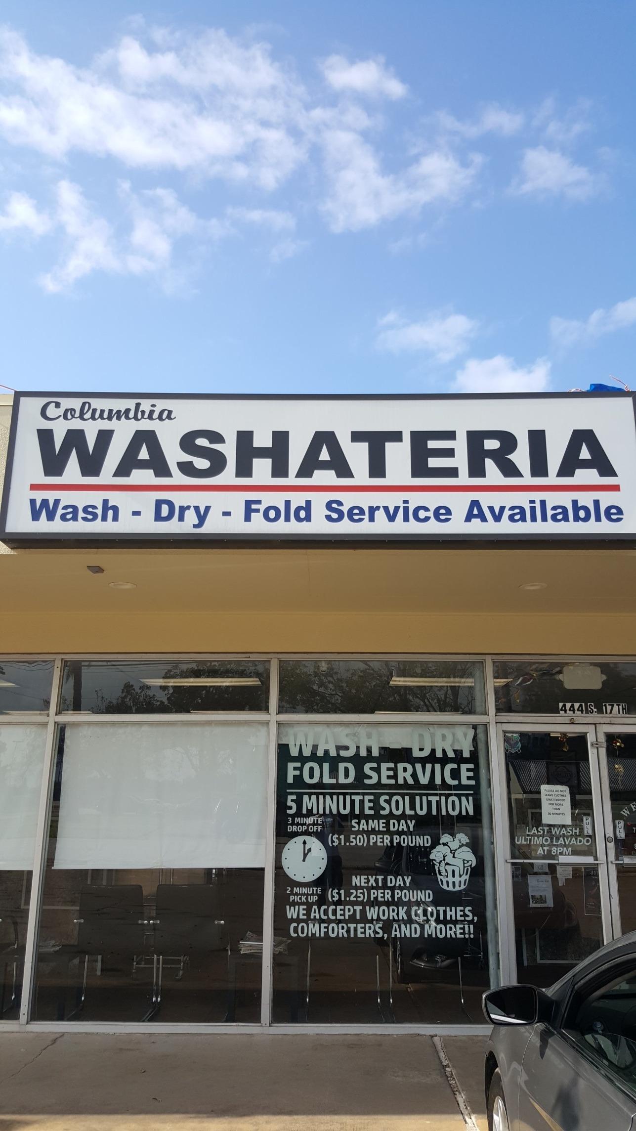 Columbia Washateria