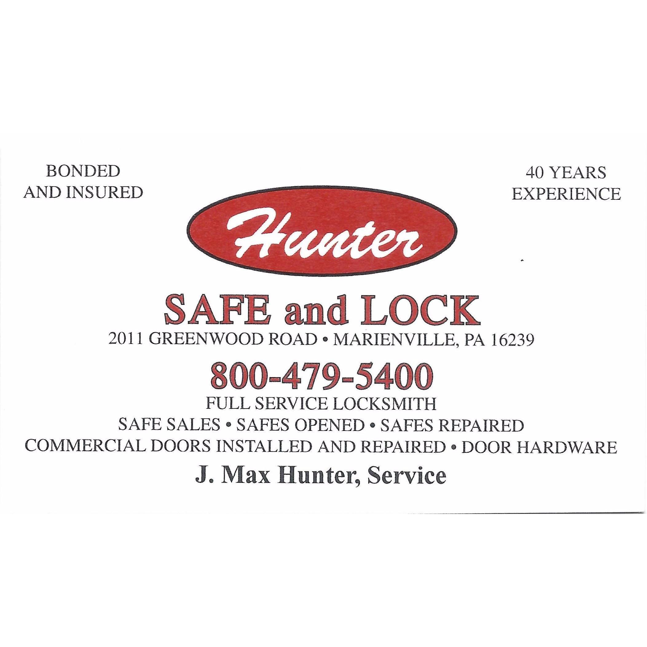 Hunter Safe and Lock