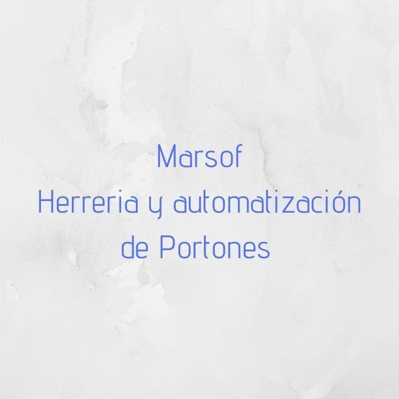 MARSOF - HERRERIA Y AUTOMATIZACION DE PORTONES Logo