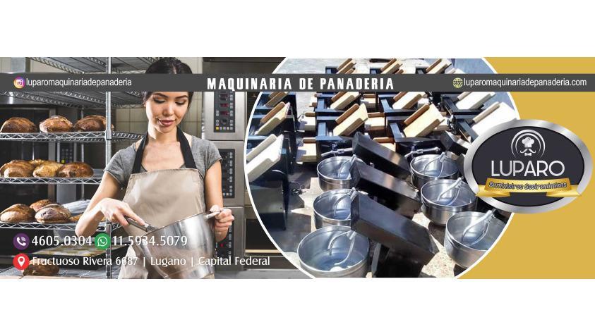 LUPARO MAQUINARIA PANADERIA