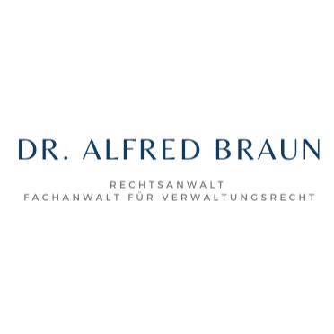 Bild zu Dr. Alfred Braun Rechtsanwalt, Fachanwalt für Verwaltungsrecht in München