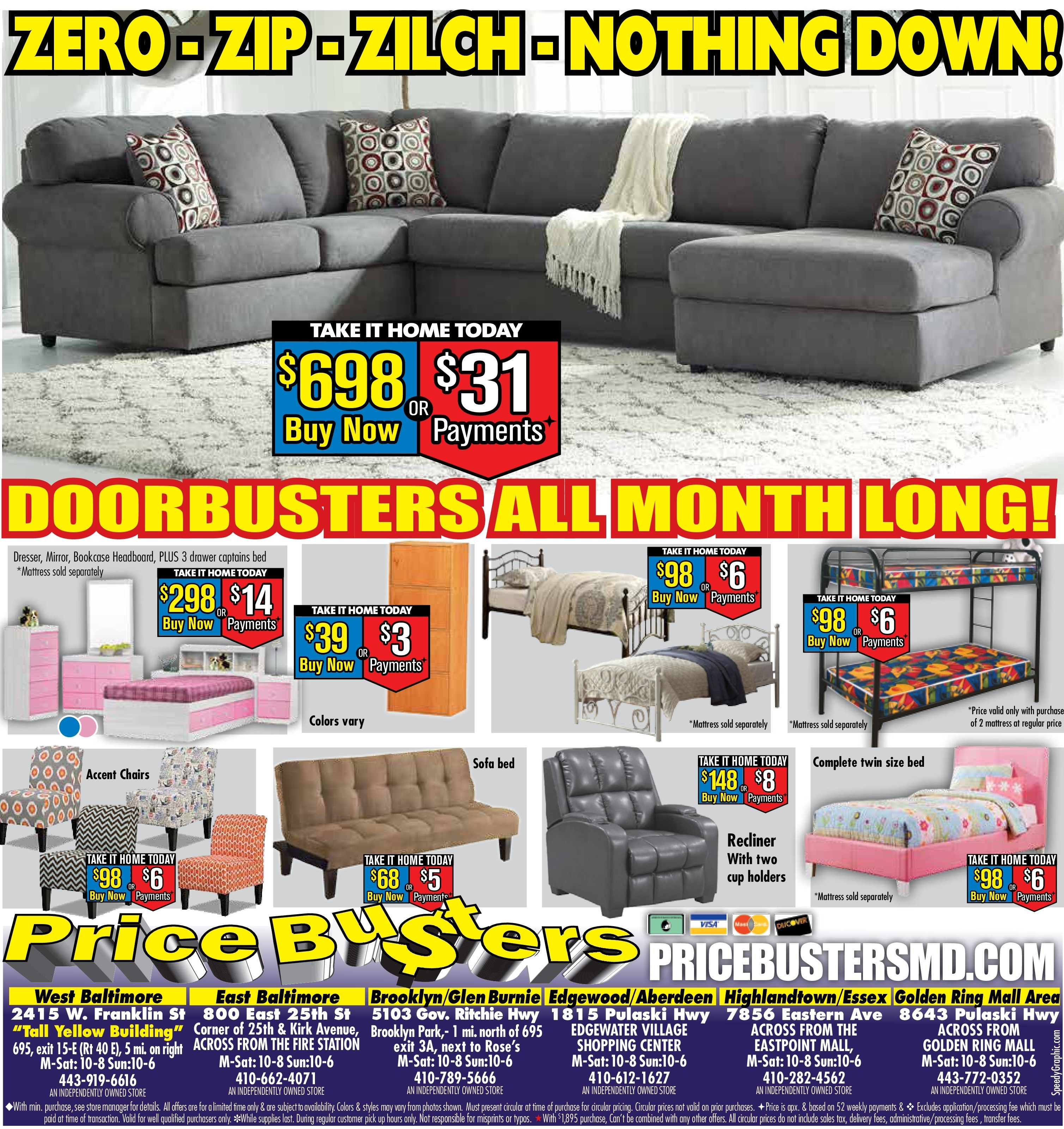 Price Busters Discount Furniture At Price Busters Discount Furniture At 800 East 25th Price