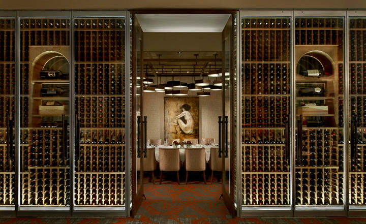 Del Frisco's Double Eagle Steakhouse Chicago Magnum Room private dining room