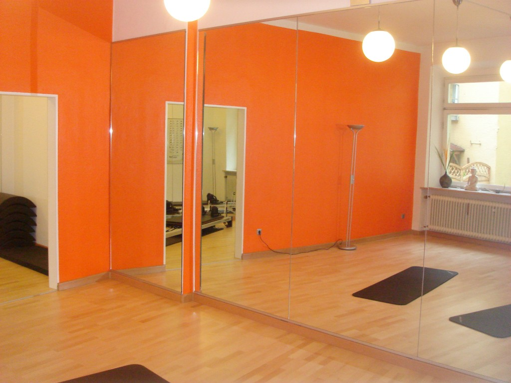 Inside the fitnesssal keep in motion PILATES STUDIO | München