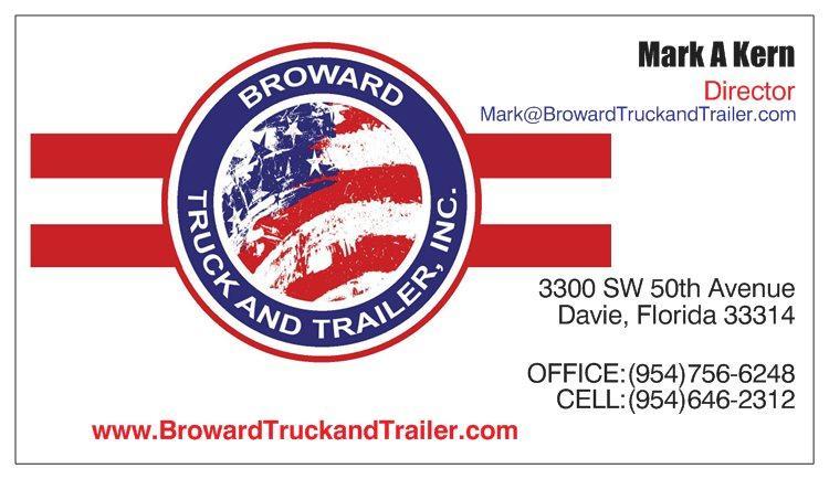Broward truck and trailer inc in davie fl 33314 for 2240 sw 71st terrace davie fl 33317