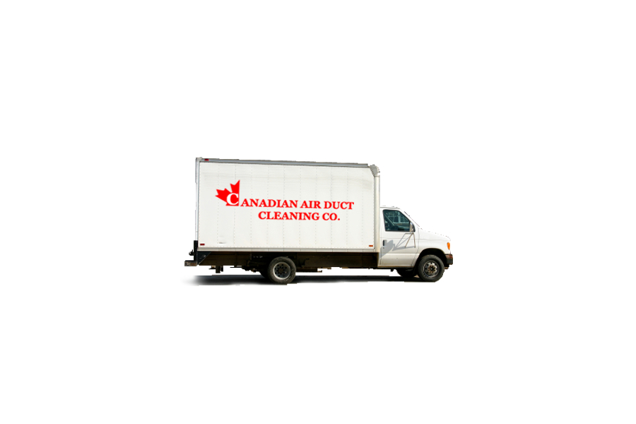 Canadian Air Duct Cleaning à Aurora: We have two fully equipped trucks, along with four qualified technicians. We specialize in residential duct cleaning for our customers and major builders - Canadian Air Duct Cleaning Co.