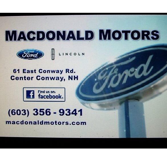 Macdonald Motors Ford & Lincoln Sales, Service & Auto Body