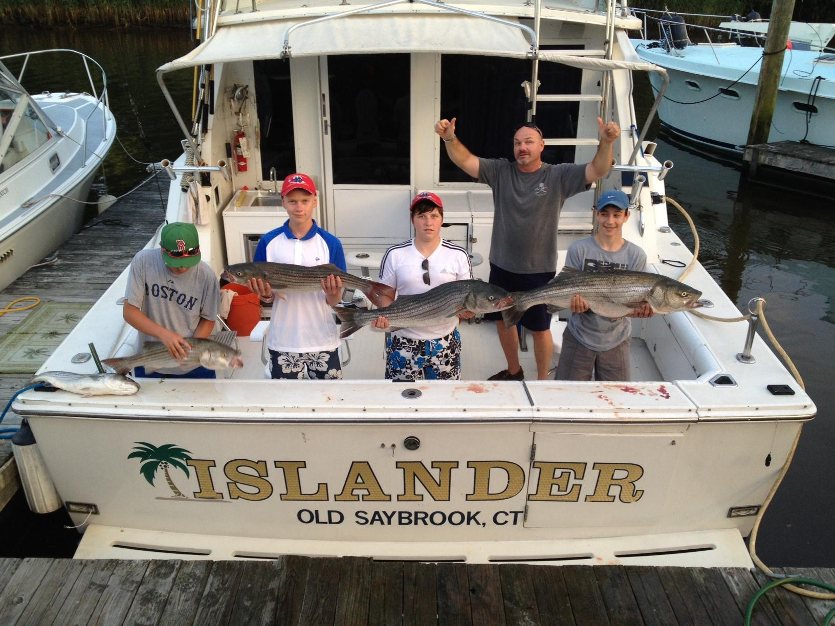 Islander sport fishing charters in old saybrook ct 203 for Fishing trips in ct