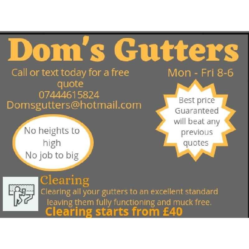 Dom's Gutters - Tunbridge Wells, Kent TN1 2JA - 07444 615824 | ShowMeLocal.com