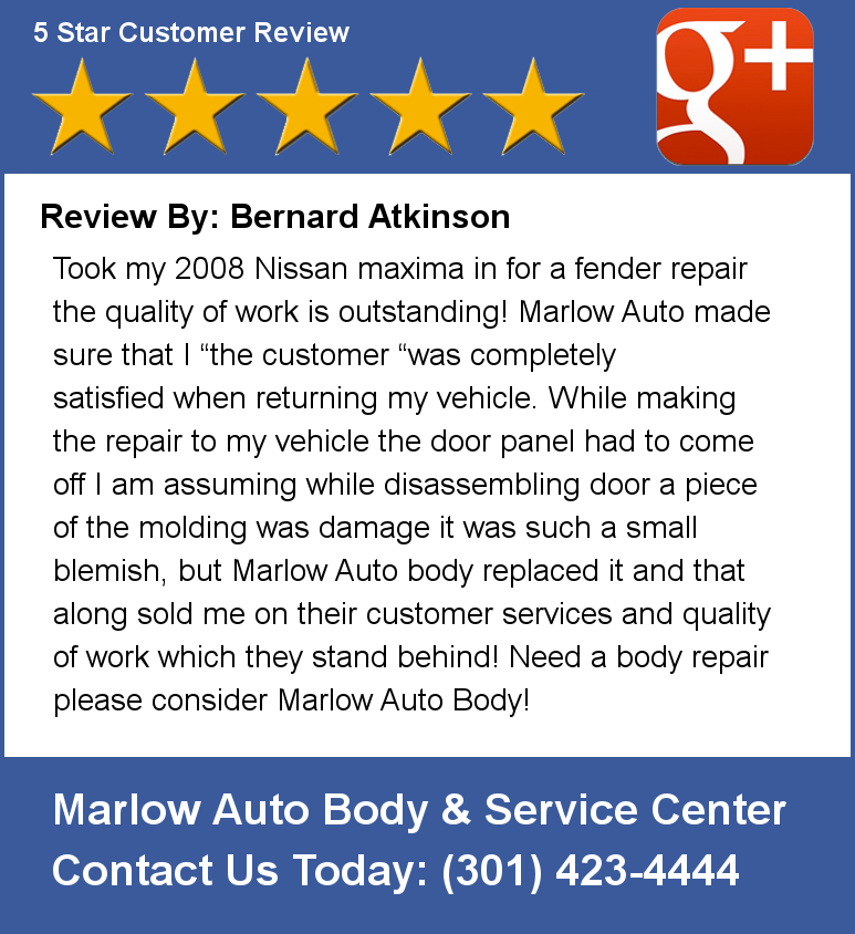 Auto Body professional writer service