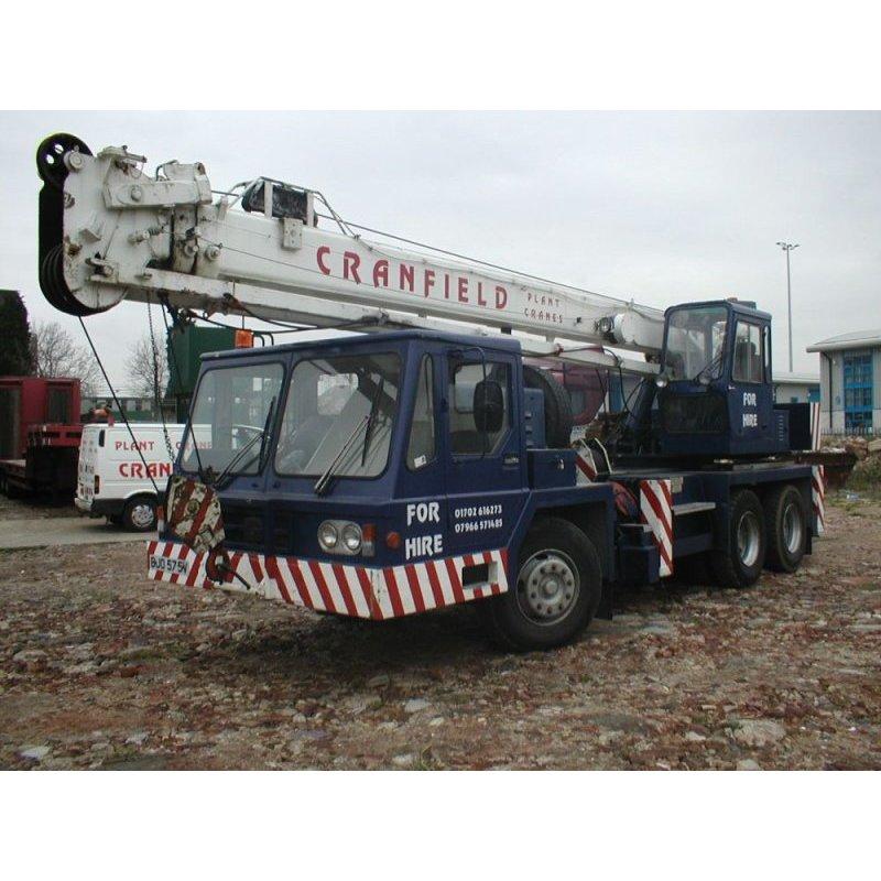 Cranfield Cranes - Basildon, Essex  - 07966 571485   ShowMeLocal.com