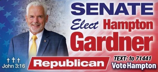 Hampton Gardner for Senate District 31 Decatur (601)479-6796