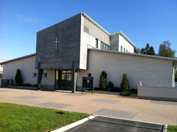 Hyvinkään seurakunta Martin seurakuntatalo