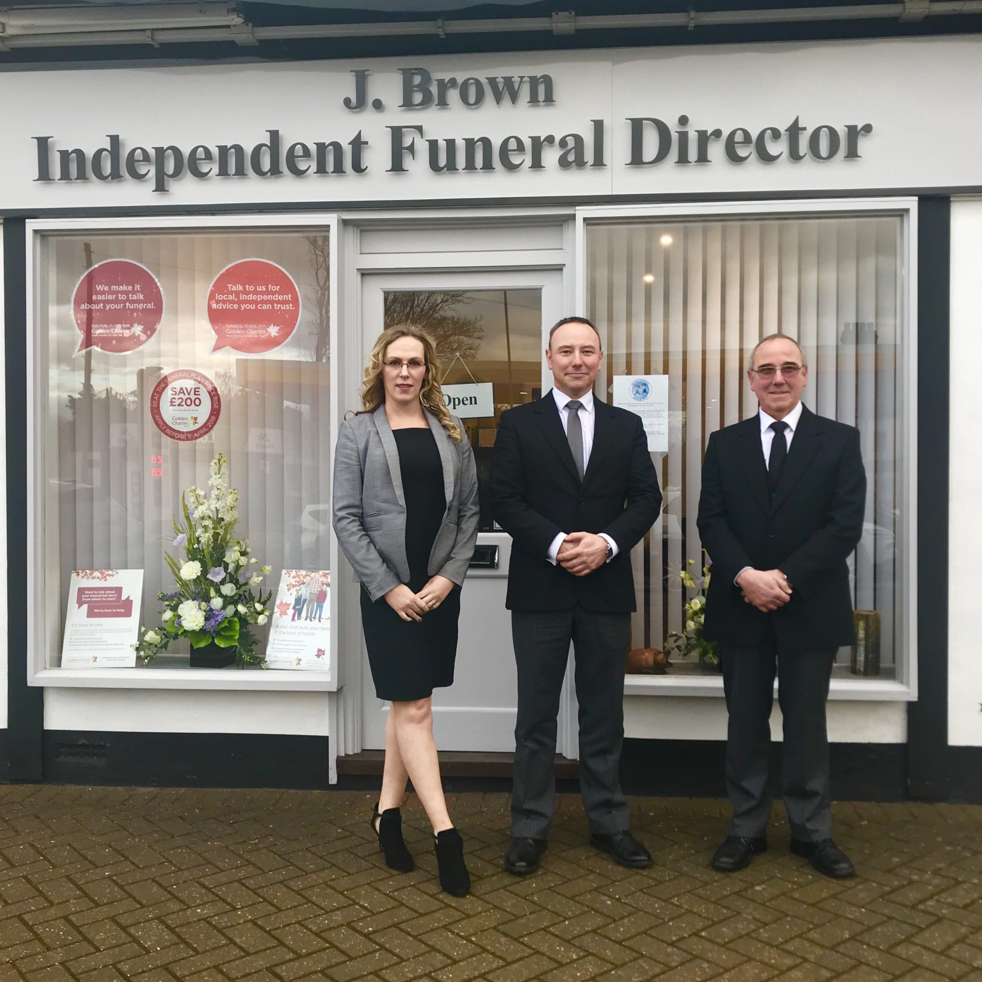 J Brown Funeral Services Ltd