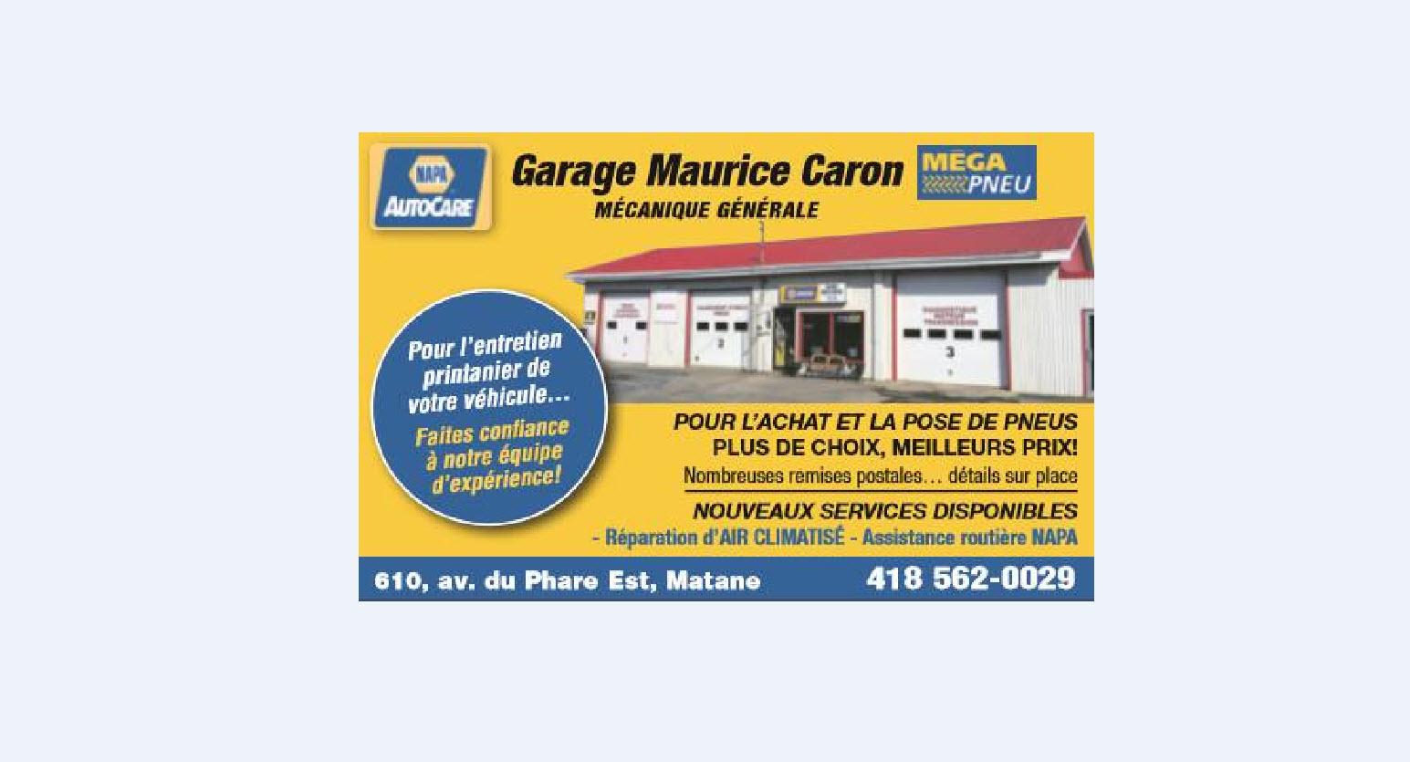Garage Maurice Caron Inc à Matane