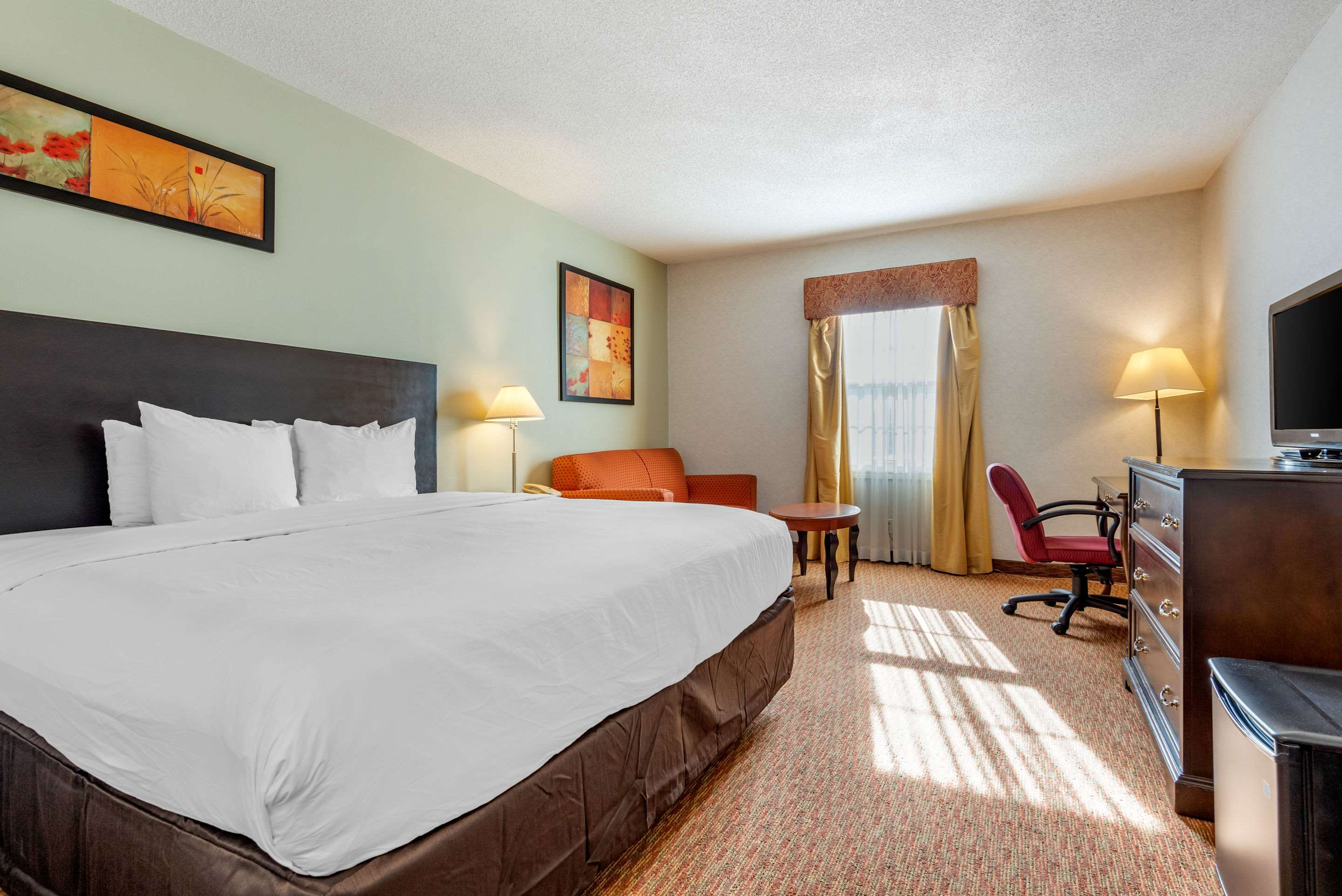 Guest room with one bed Quality Inn Sarnia (519)344-1157
