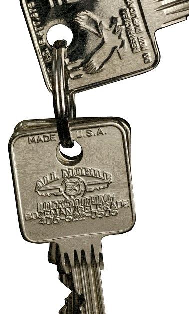All Mobile Locksmithing LLC Bozeman Montana MT