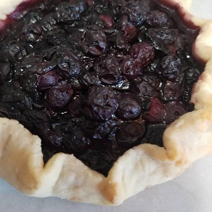 Blueberry Crostata Sweet Indulgence Curbside Depew (716)444-8802