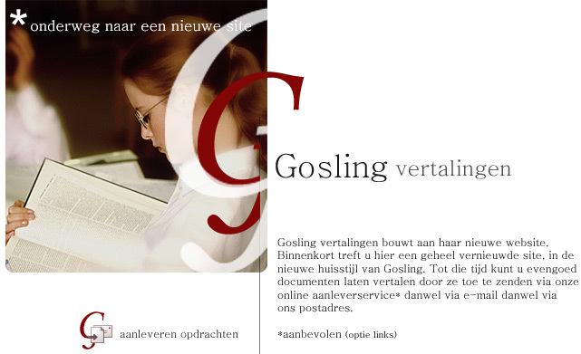 Gosling Vertalingen