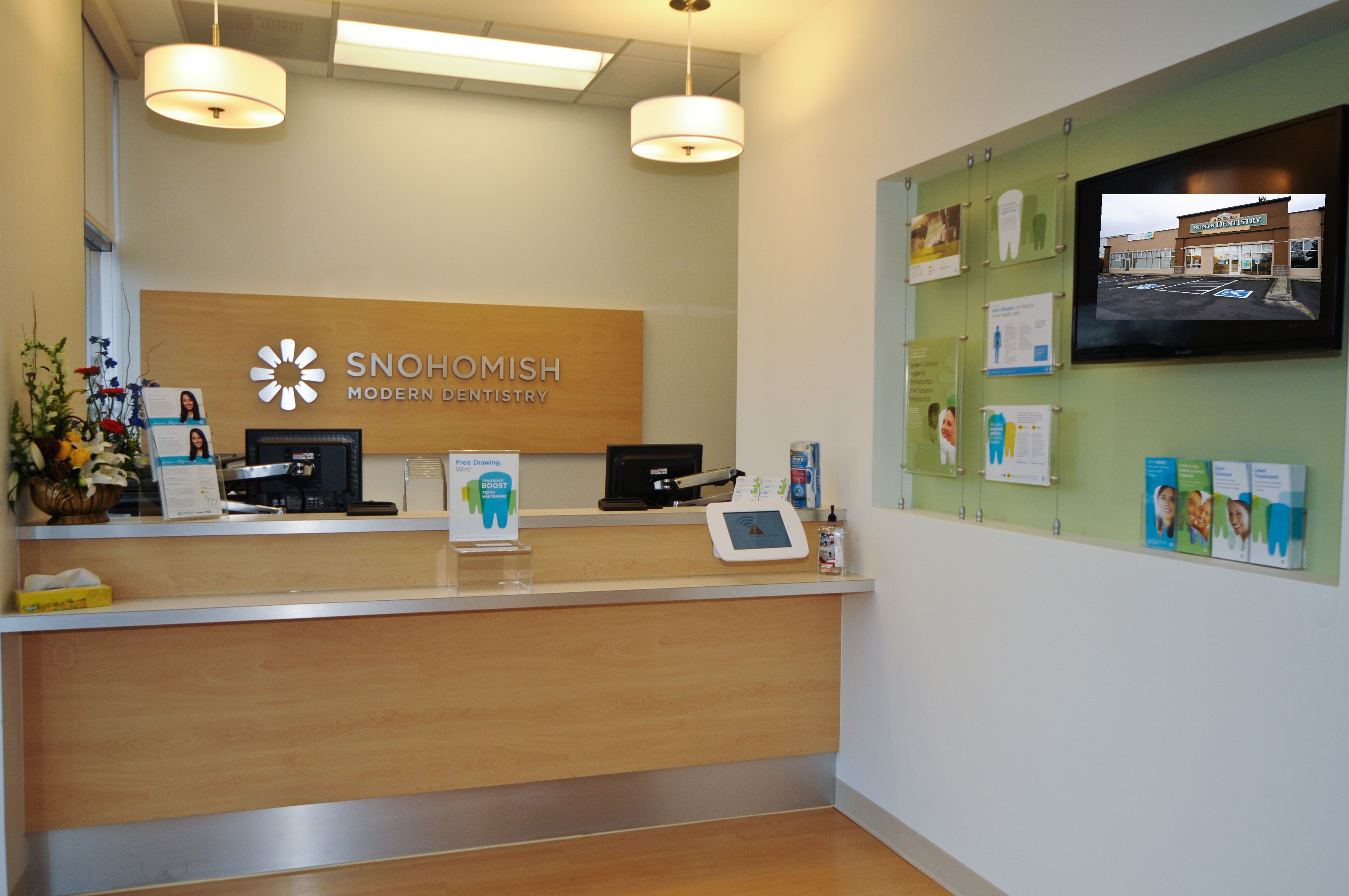 Snohomish Modern Dentistry opened its doors to the Snohomish community in November 2014.