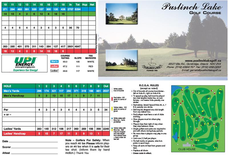 Puslinch Lake Golf Course Ltd