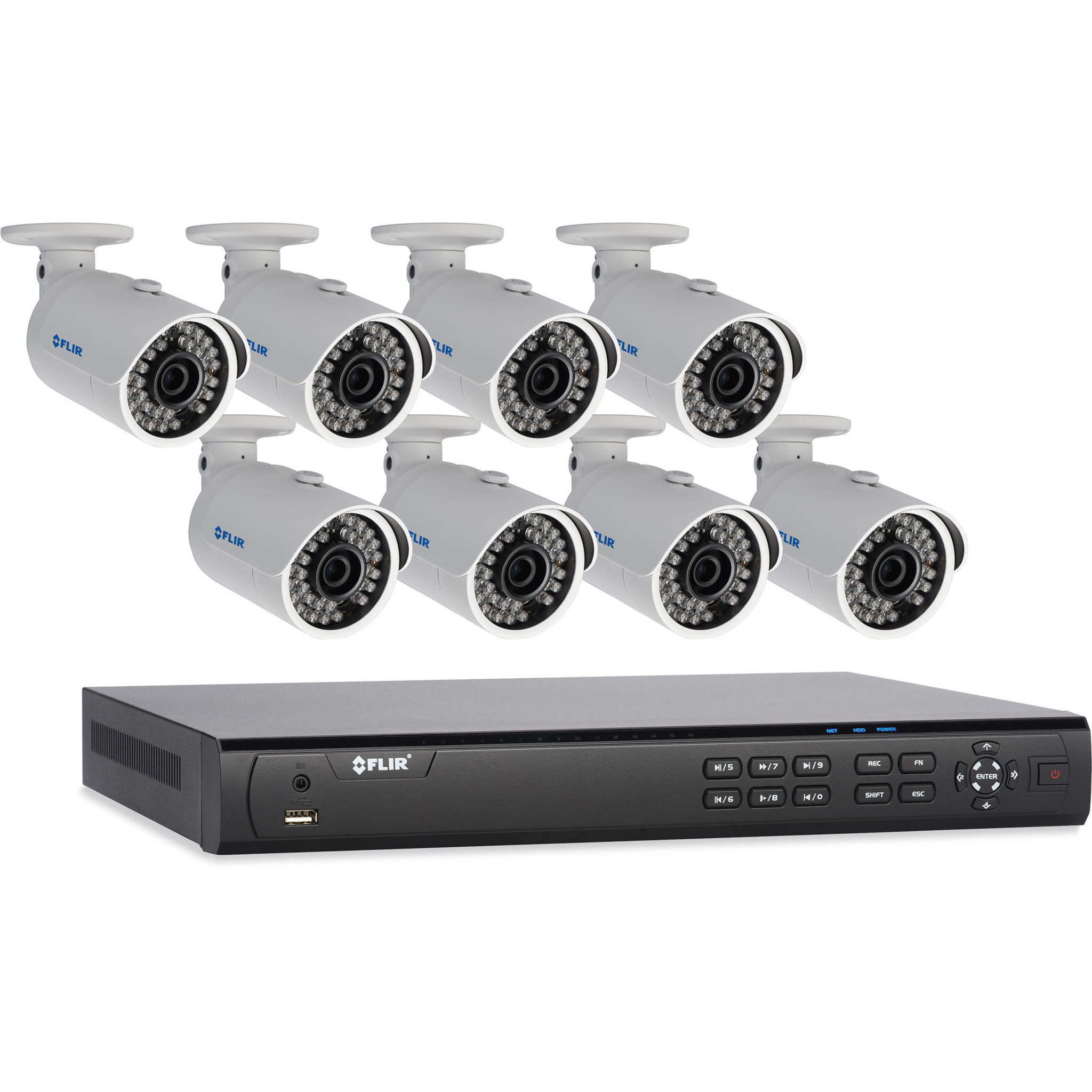 FLIR- Motorized IP Cameras offer HD picture quality with outstanding night vision capabilities. Best Security Okanagan Kelowna (250)826-8395