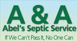 A & A Abel's Septic Service