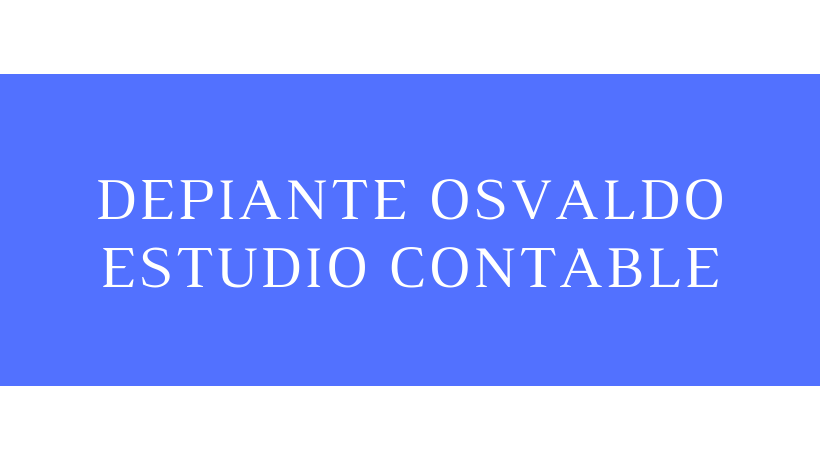 DEPIANTE OSVALDO - ESTUDIO CONTABLE