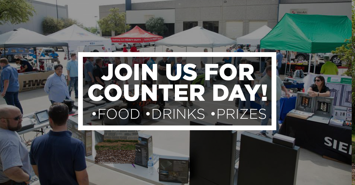 Counter Day | CES Dayton