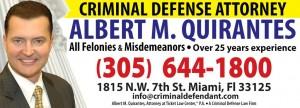 Albert Quirantes, Esq. Criminal DUI & Ticket Lawyers