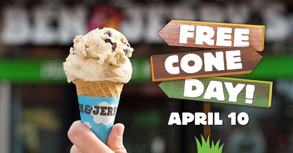 Free Cone Day 2018