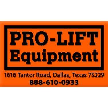 Prolift Equipment Inc