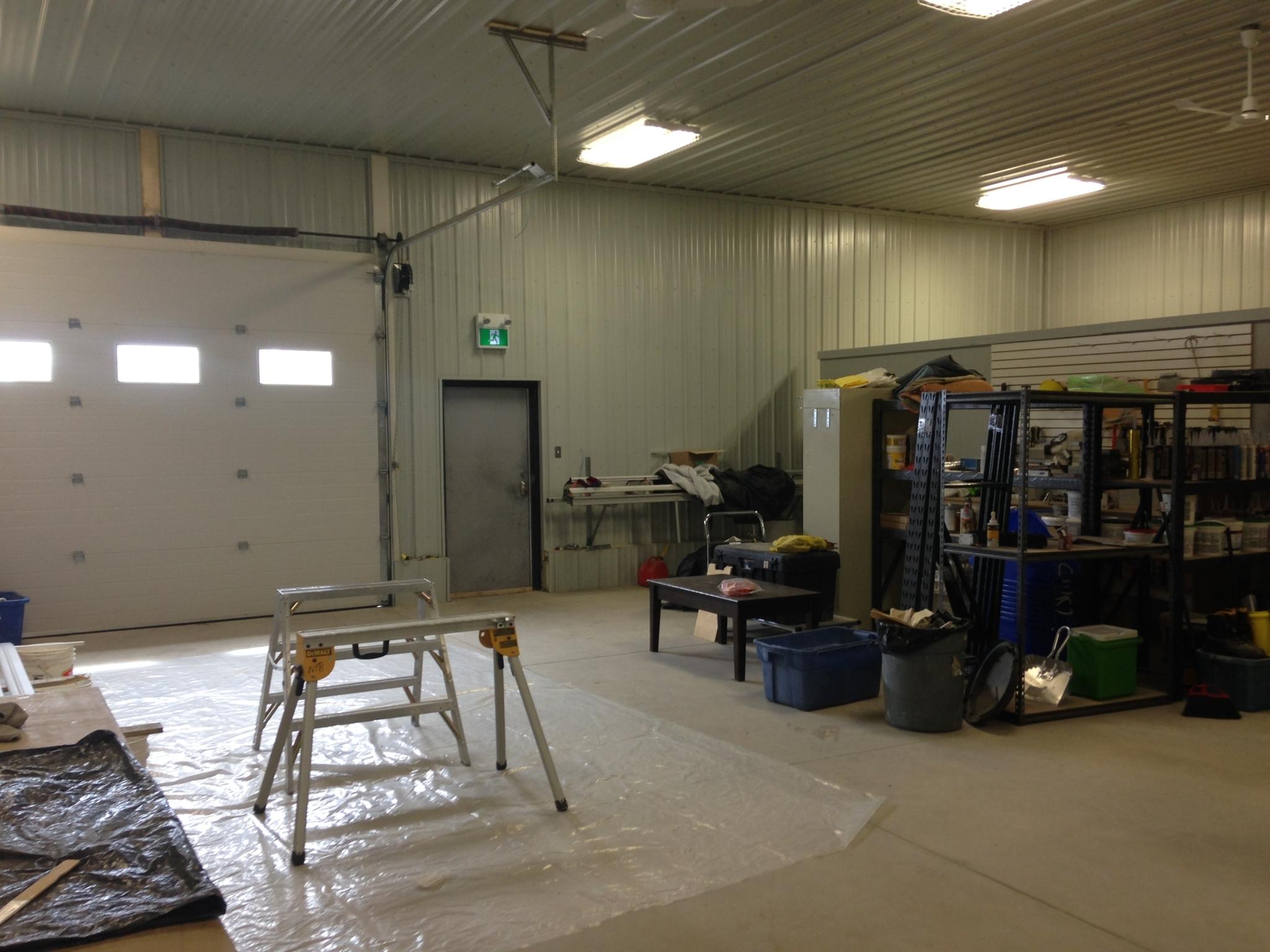 Northfield Builders Inc in Goose Bay: North Field Builders pre fabracation workshop