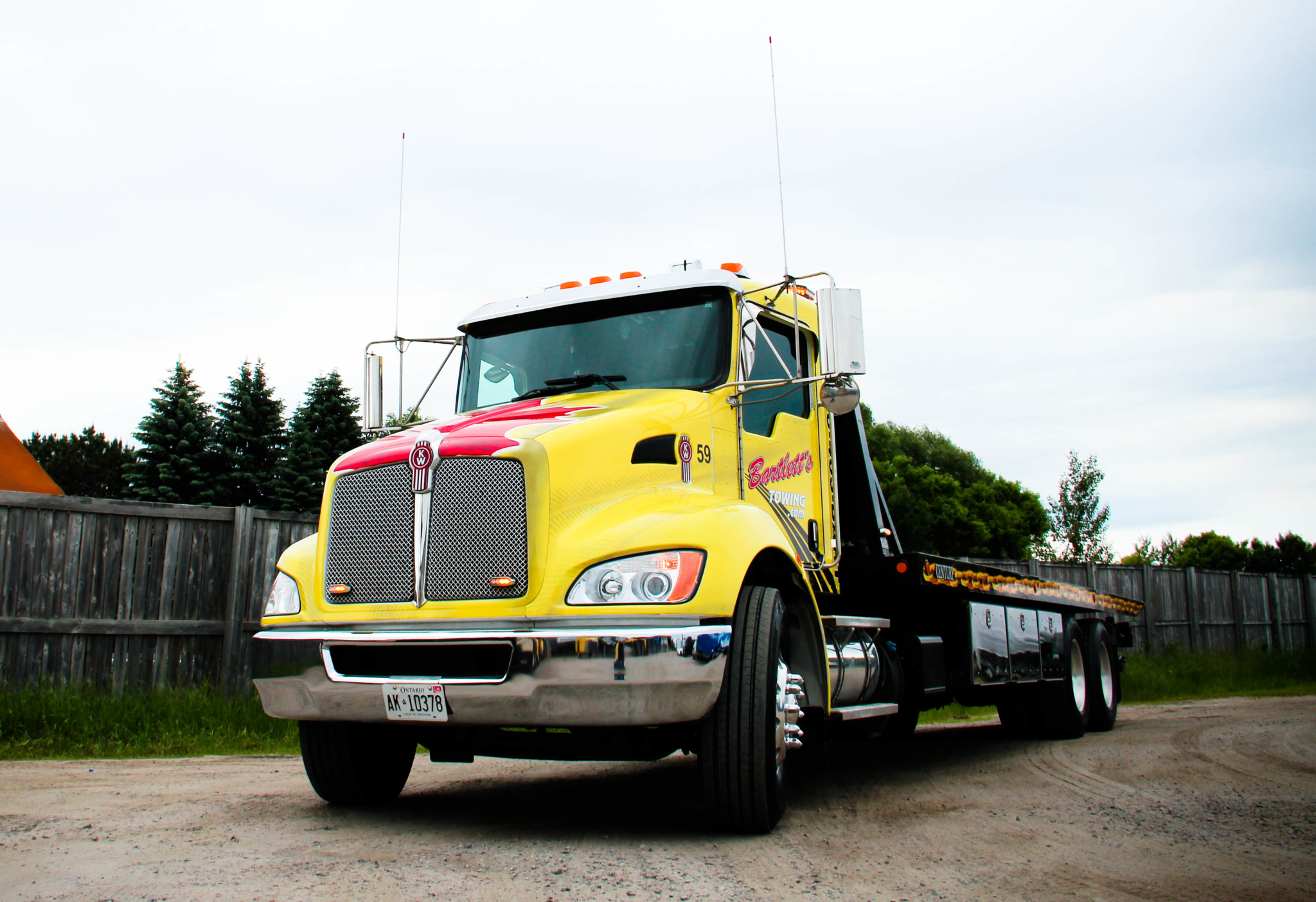 Bartlett's Towing in North Bay: Bartlett Towing- Flatbed