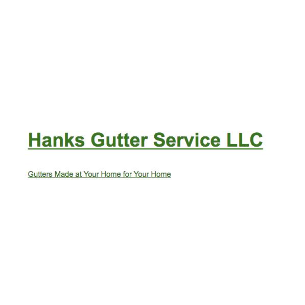 Hanks Gutter Service, Llc