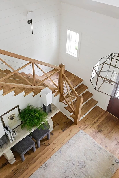 Our stair services include installing and refinishing hardwood stair treads, risers, hand rails, and Southern Oaks Flooring Nashville (615)416-9039