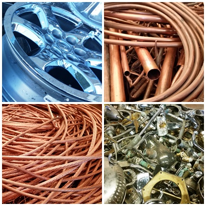We buy copper, brass, aluminum, and more...