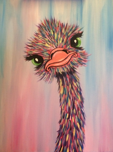 Paint Nite - Coral Tree Cafe Encino 01/19/2019