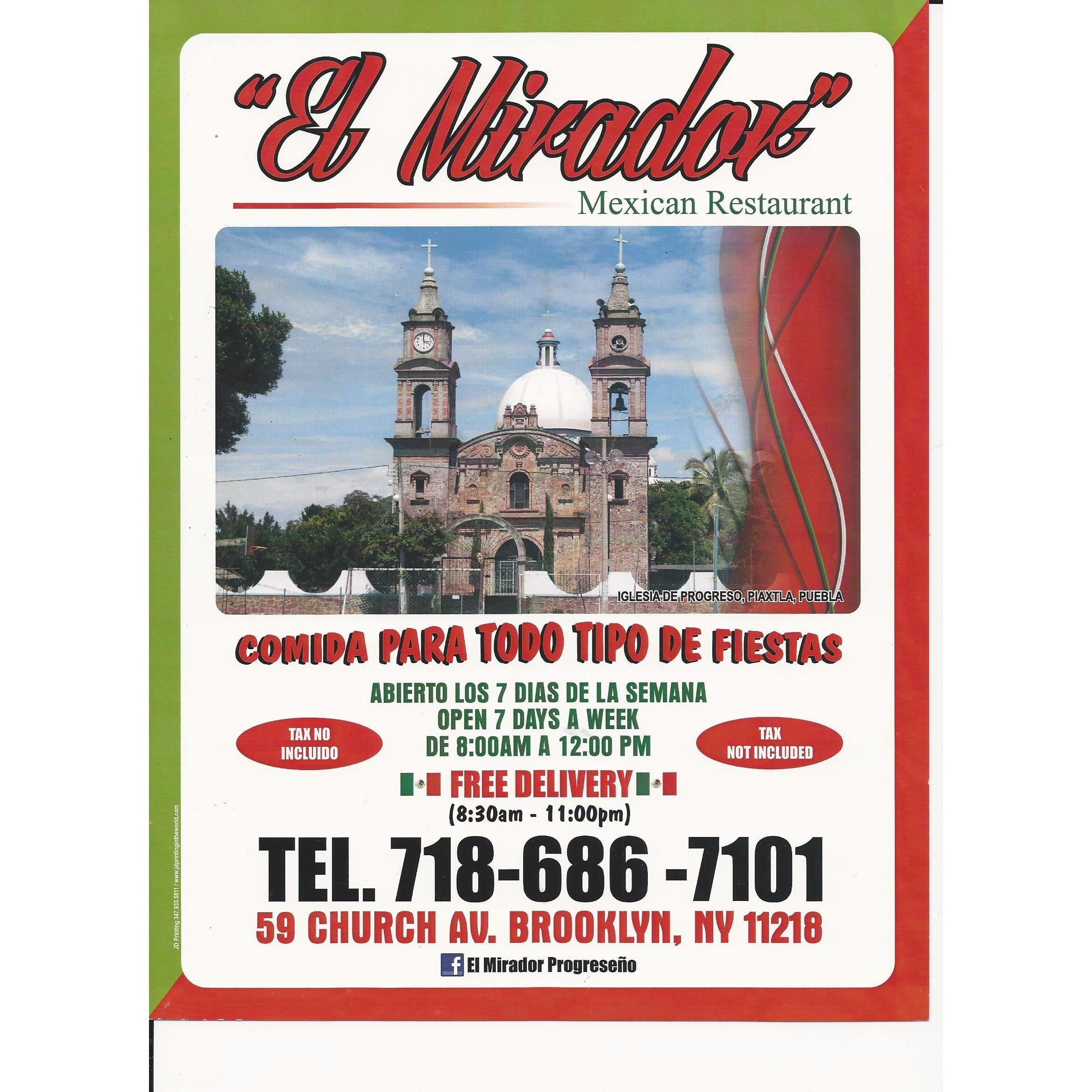 El Mirador Mexican Restaurant