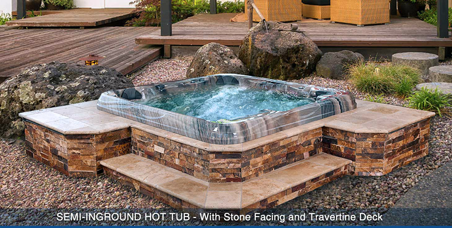 Creative spa designs in las vegas nv 89147 for Pool design with hot tub