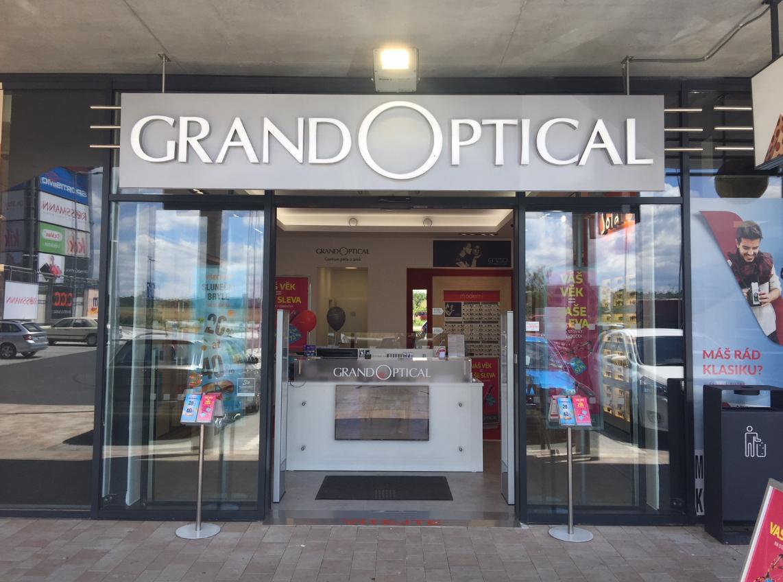GrandOptical - oční optika Nákupní park Strakonice