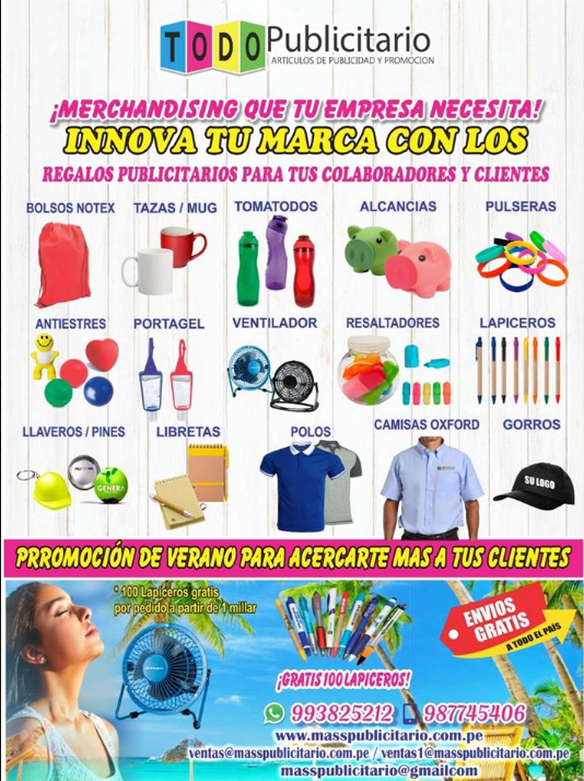 MASS PUBLICITARIO Lima