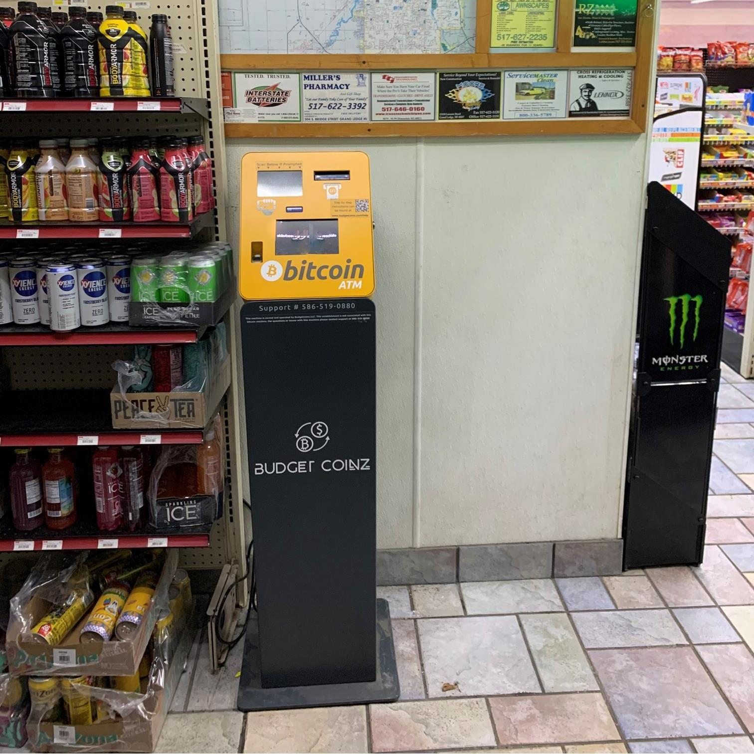 BudgetCoinz Bitcoin ATM Near Me - 24 Hours - Lansing in ...