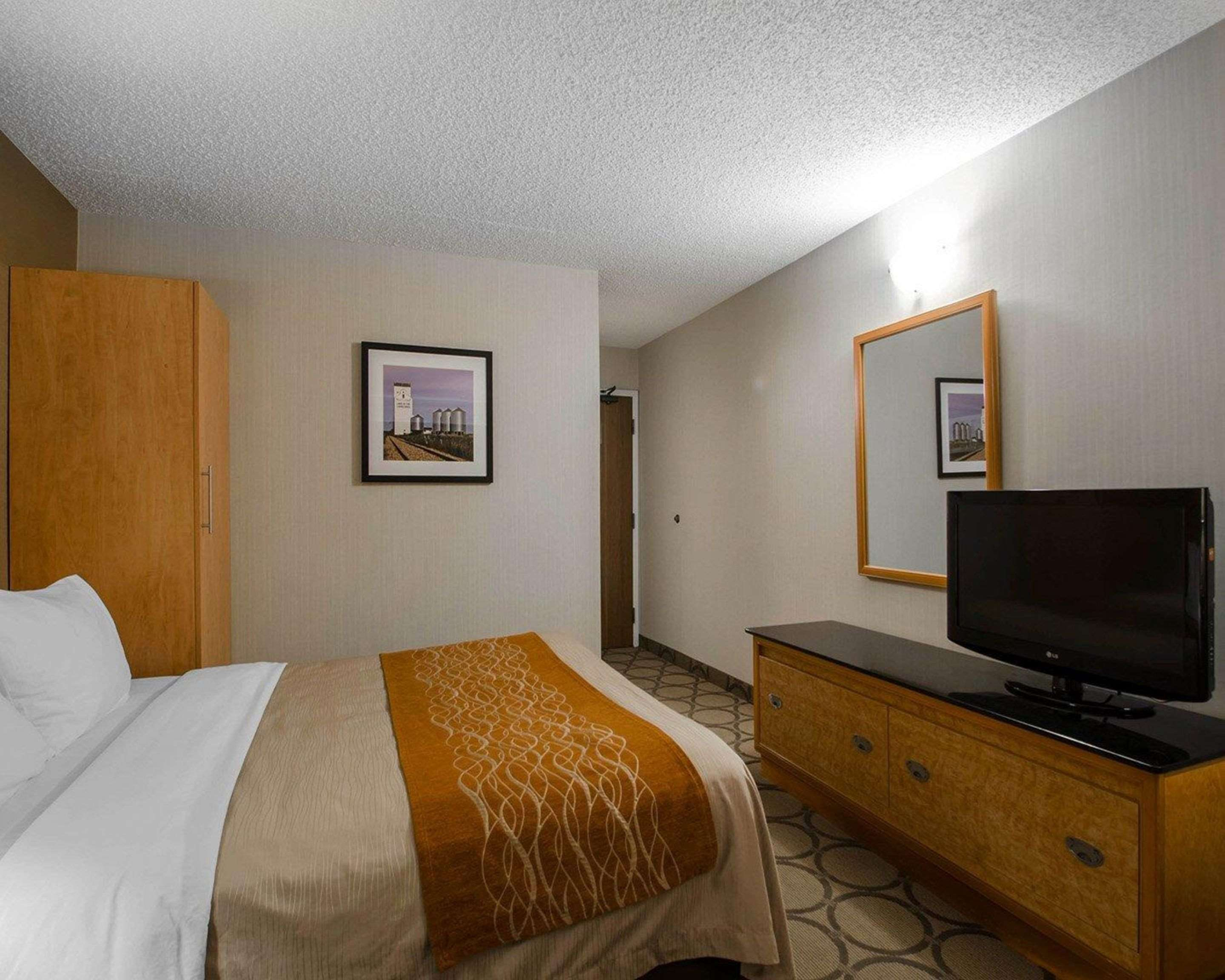 Comfort Inn in Prince Albert: Guest room with flat-screen television