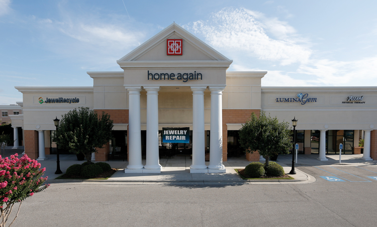 Located inside Home Again Fine Consignments